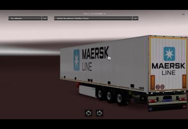 TZ Schmitz trailer MEARSK Skin 2017 v1.0