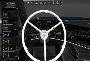 Vabis Steering Wheel for Scania RJL