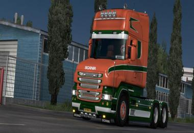 Volt skin for Scania T v1.0