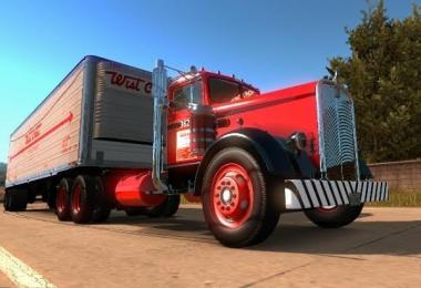 West Coast Kenworth 521 Truck + Trailer