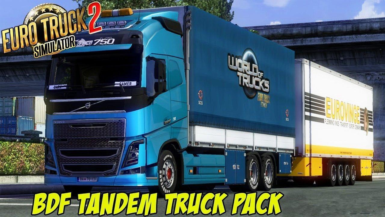 BDF Tandem Truck Pack v78 [1.27.x]