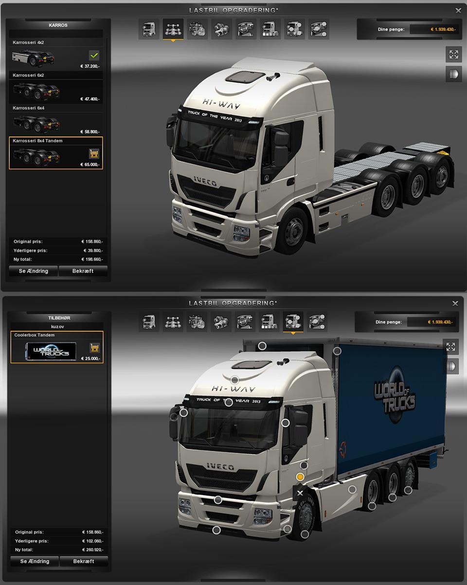 BDF Tandem Trucks Pack V75 [1.27.x]