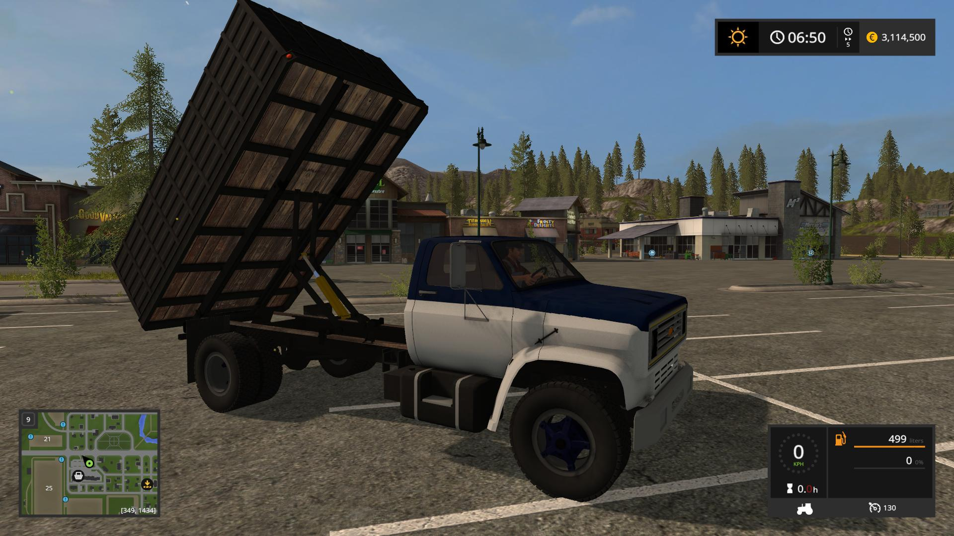 Chevy C70 Graint Truck v1.0