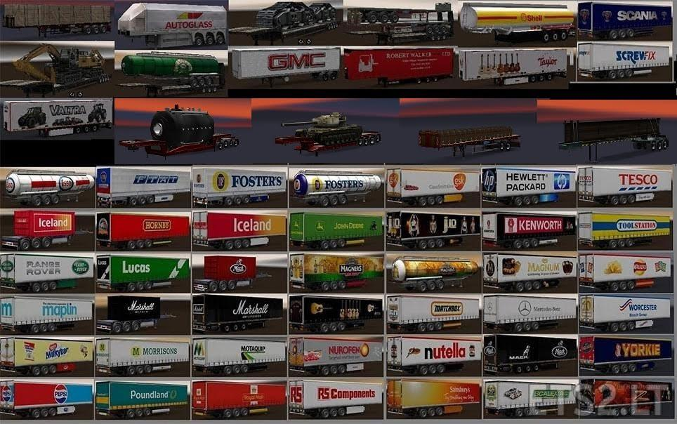 Chris45 Trailers Pack v9.03 [1.27]