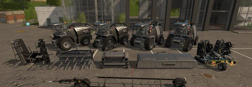 Krone BiG X BlackBeauty Pack v1.0