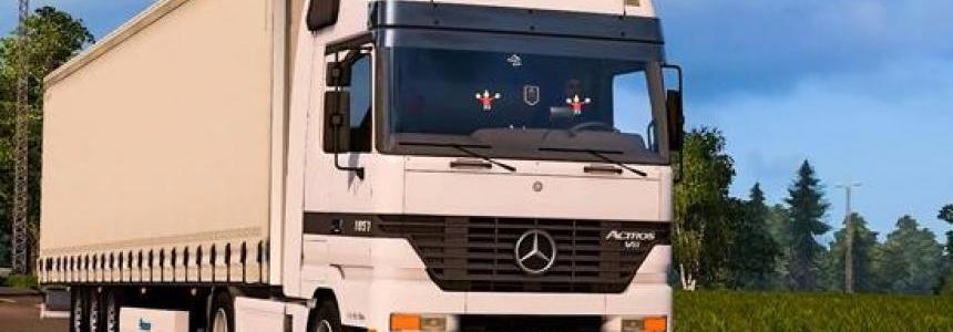 Mercedes Benz Actros MP1 v1.0