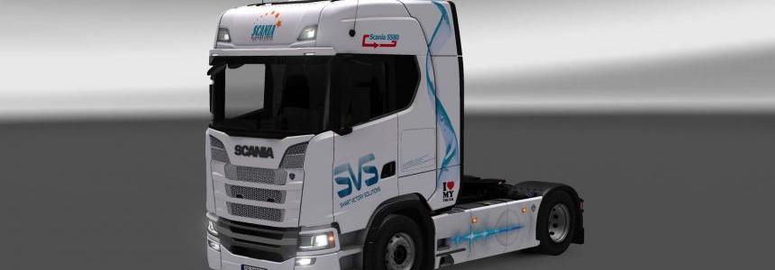 Scania S580 SVS skin 1.26