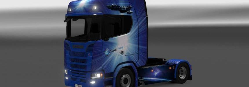 SCANIA NEW S SERIES SUPERNOVA SKIN 1.26