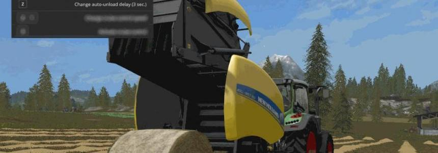 Automatic unload for round balers v1.1.0.24