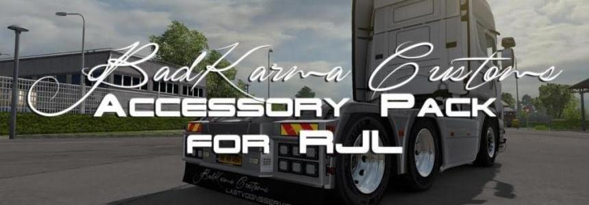 BadKarma Customs Accessory Pack for RJL Scania