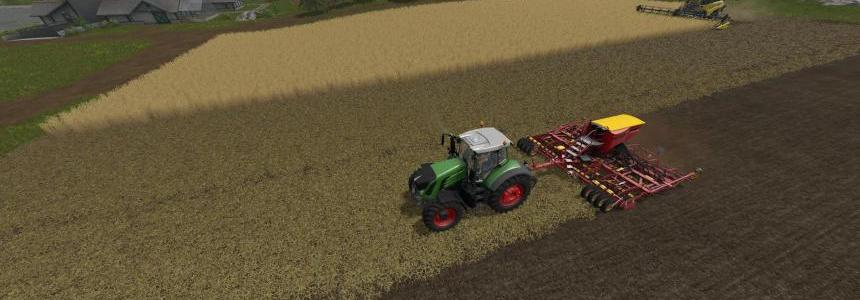 Chopped Straw - Direct Seeding Addon v1.1