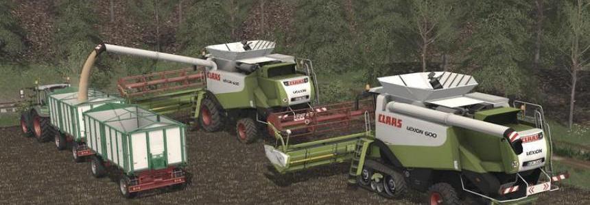 Claas Lexion 600 Farming simulator 17 v1