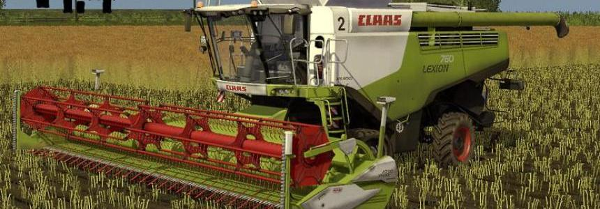 Claas Lexion 700 STAGE IV Pack v1.4