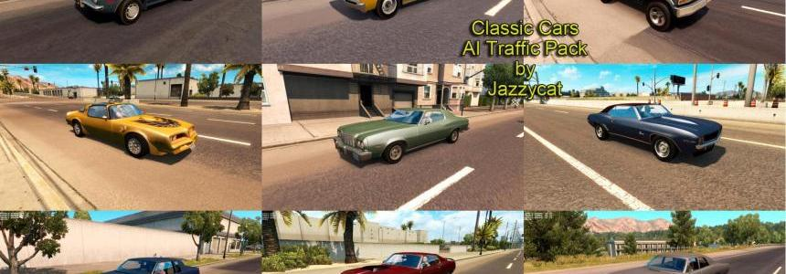Classic Cars AI Traffic Pack by Jazzycat  v1.3
