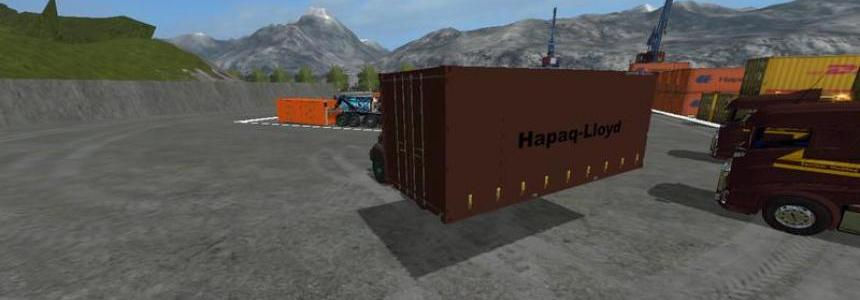 Container 20ft + 40ft v0.1