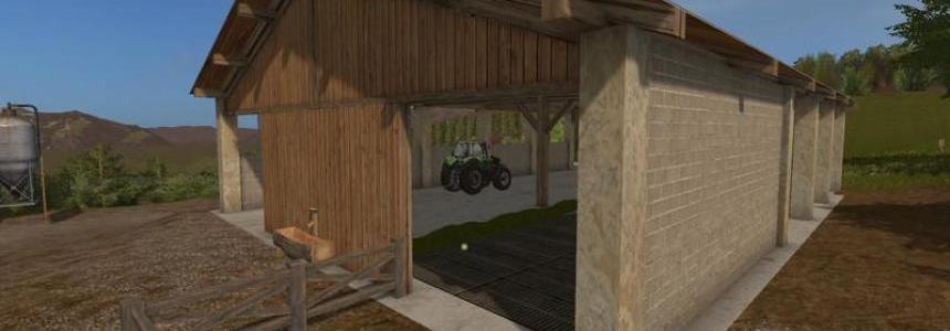 Cowshed Farming simulator 17 v2.0