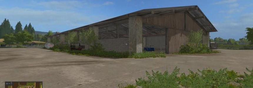 Cowshed Farming simulator 17 v2