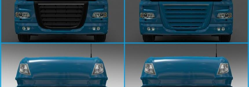 DAF XF Painted Intakes [1.27.x]