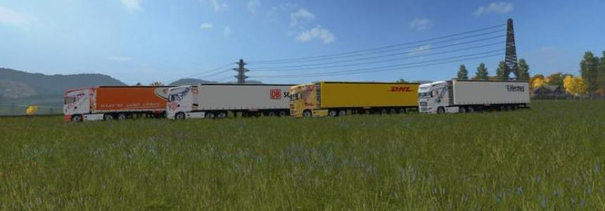 DHL semitrailers v1.0