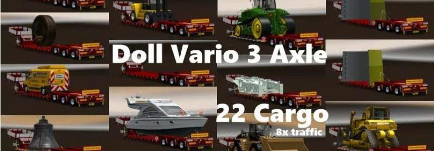 DOLL VARIO 3ACHS fixed 1.27
