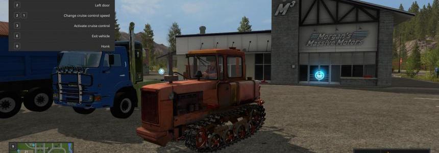 DT-75N Farming simulator 17 v1.0