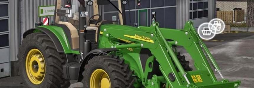 Front Loader John Deere 7030 Series v0.95 Beta