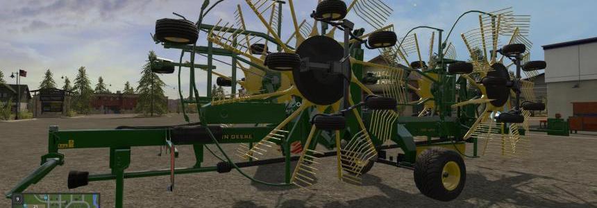 John Deere 1252 Windrower v1.0