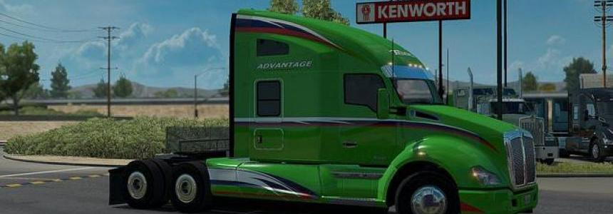 Kenworth T680 Advantage Aerokit v1.6