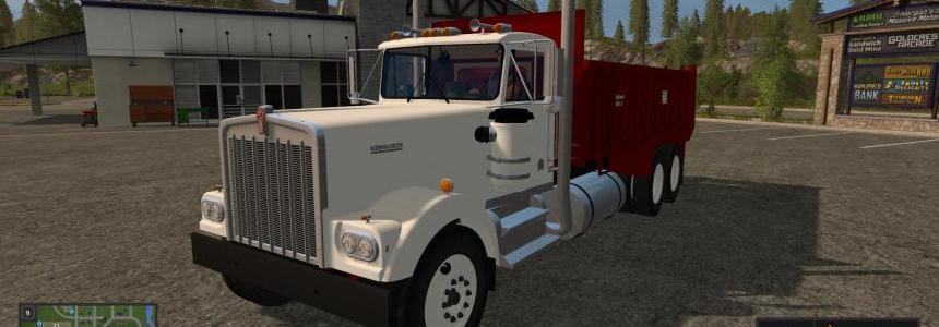 Kenworth W900A Manure Spreader v1
