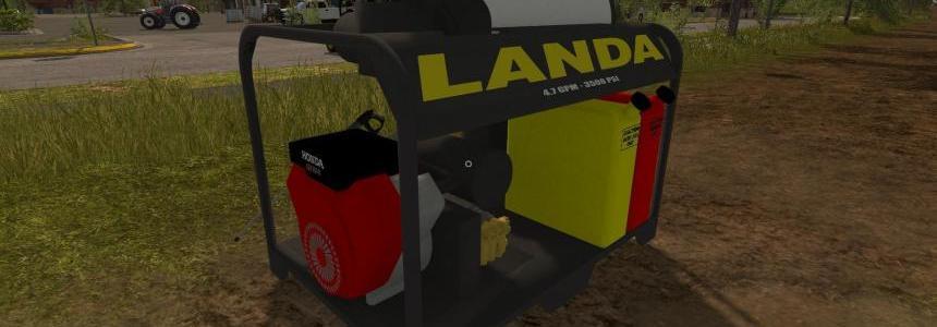 Landa Placeable Pressure Washer v1