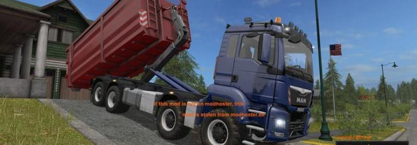 MAN TGS 8x8 with HVAC V1.0