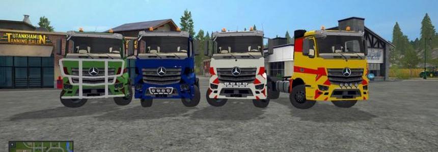 Mercedes Benz Antos v1.0