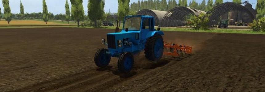 MTZ 80 Farming simulator 17 v2.0