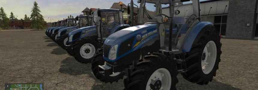New Holland T4 by AGR Mods Team