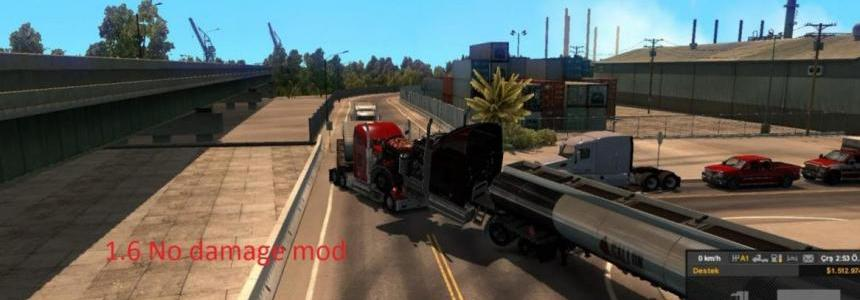 No Damage Mod [1.6.x] +150 mph Limits ATS v1.0
