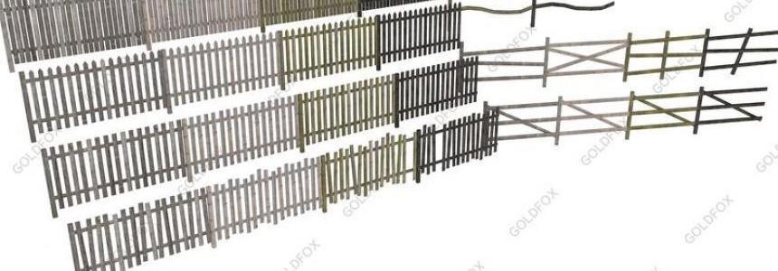 Old Fence Pack 3 v1.0