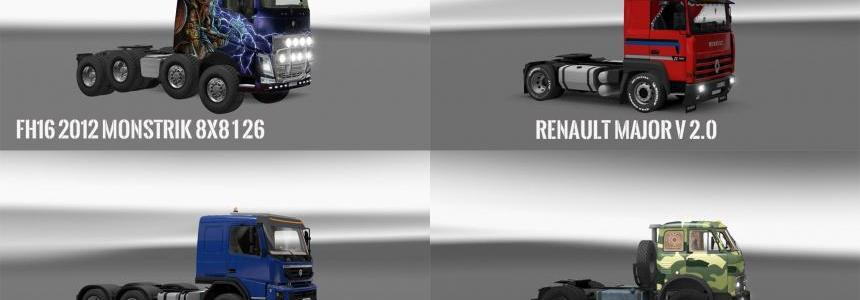 Pack v10.6 compt. Trucks with Powerful v10.4