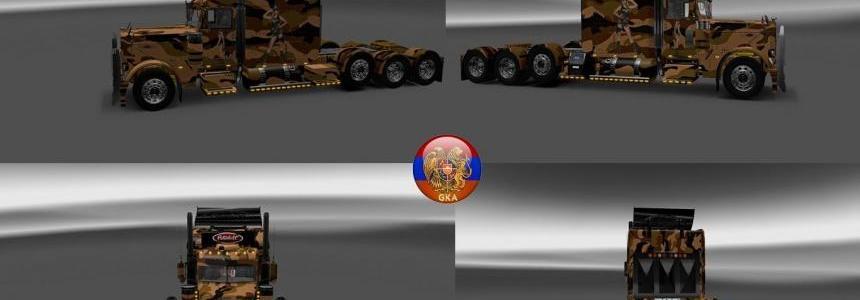Peterbilt 389 Peterbilt 389v2 Camouflage Skins 1.26.6s