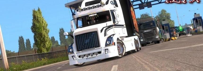 Physics for Scania T, RS, VNL 670 (v1.4.3), Volvo FH2013 1.27.x