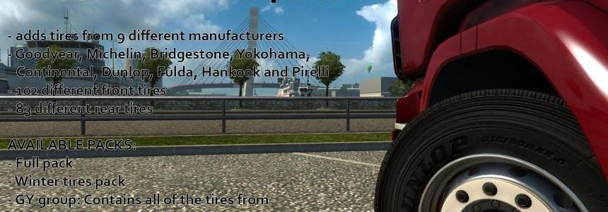 Real Tires Mod [REL]  v5.7