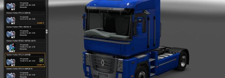 Renault Magnum Mack Drivetrain Revision v1.0