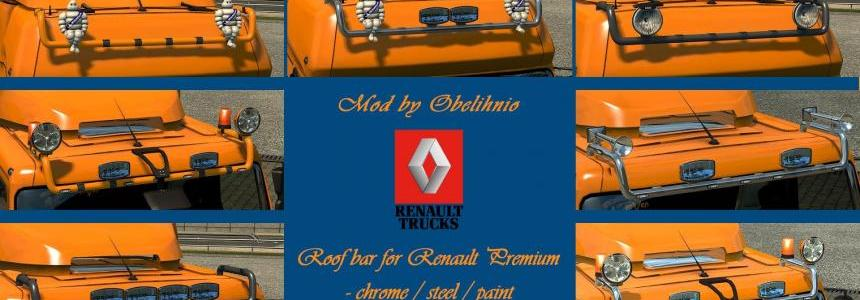Roofbar add-on for Renault Premium v1.01 [1.27.x]
