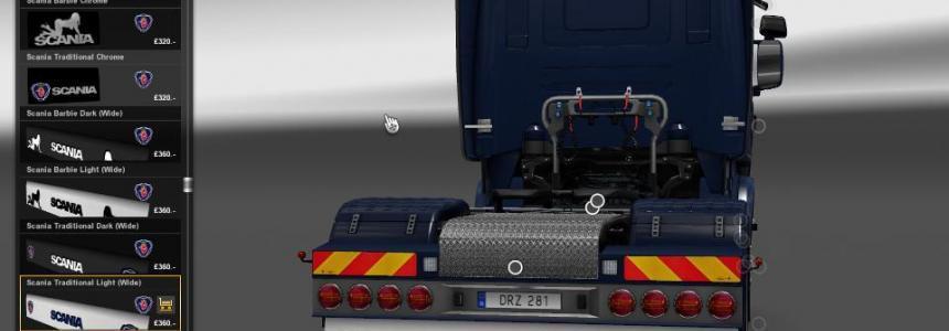 Scania Mudflap Pack v1.3.2