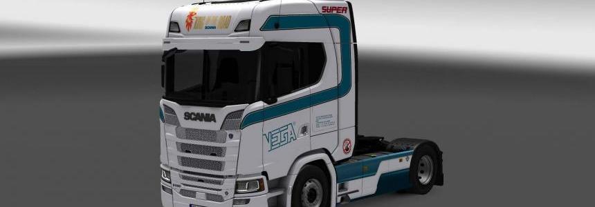 Scania New S Series Vega skin 1.26