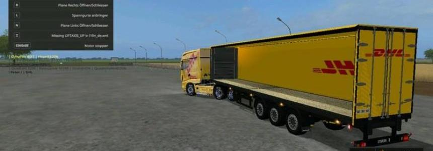 Scania R700 DHL v1.0