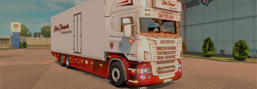 Scania V8 Switzerland Tandem [1.27] v1.0