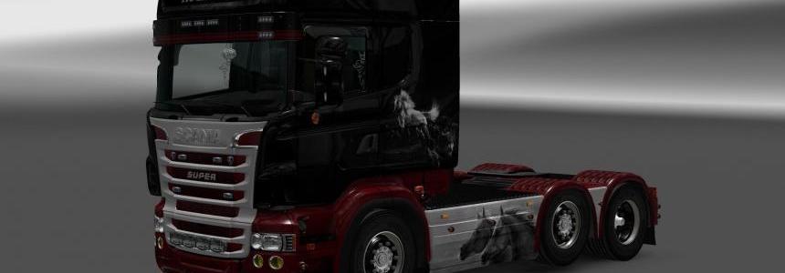 Skin for RLJ's Scania R/S Horses 1.26.x