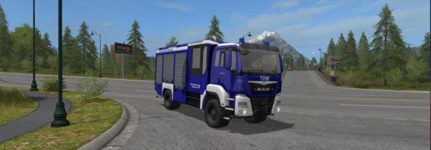 THW skin for the MAN TGS HLF v1.0