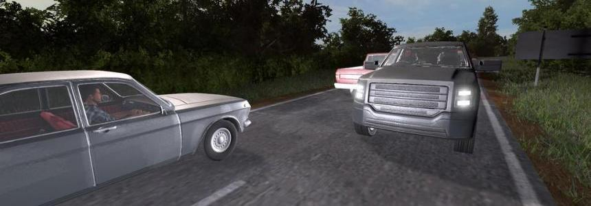 Traffic Vehicles Right Hand Drive (RHD) (Prefab) v1