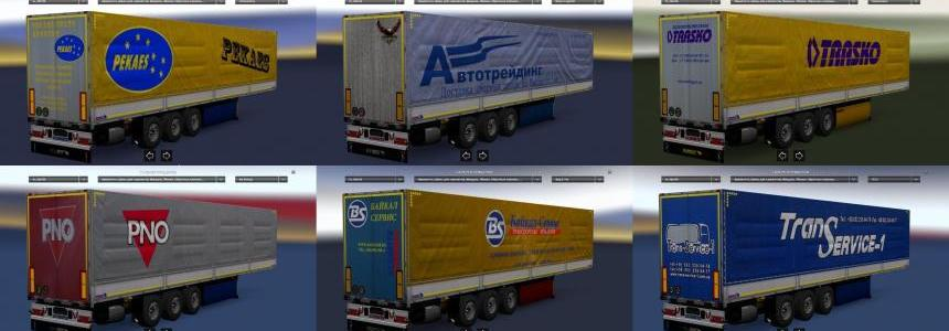 Trailer Pack Universal for ETS2 1.26